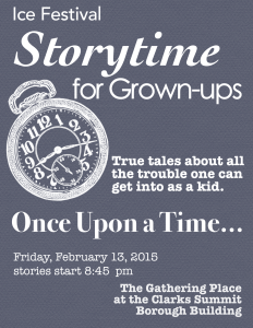 Storytime for Grown-ups