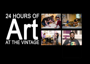 24 hours of art